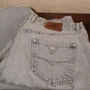 Guess Original Fit Mens Distressed Jeans